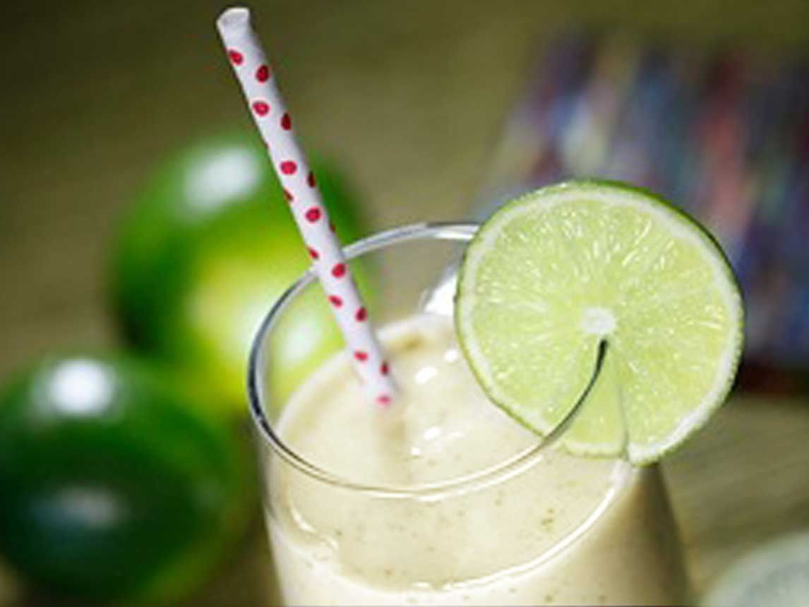 Photo of Banana Mint Smoothie