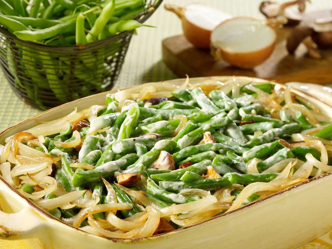 Photo of Green Bean and Mushroom Casserole
