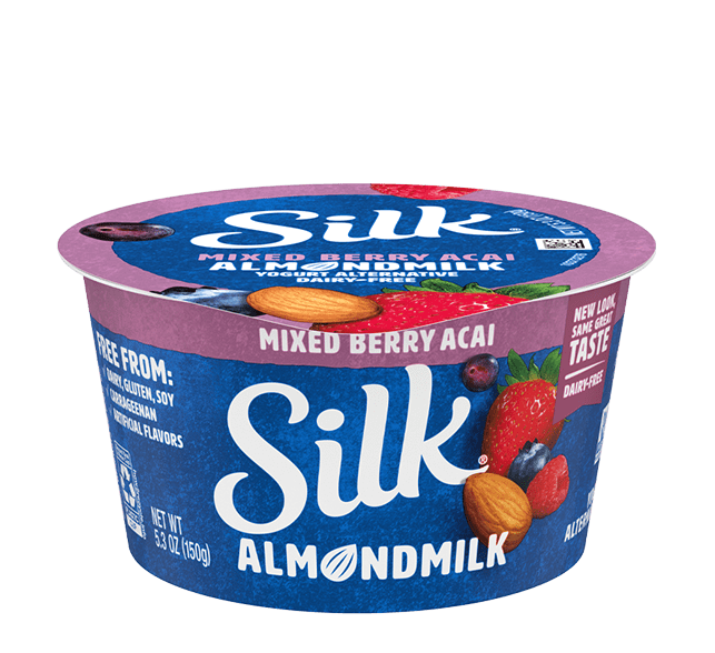 Mixed Berry Acai Almondmilk <br>Dairy-Free Yogurt Alternative