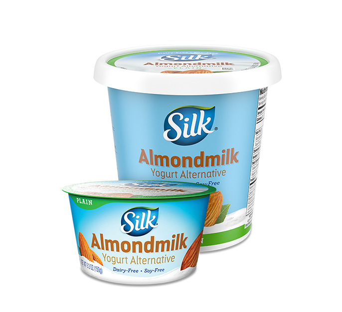 Plain Almond <br>Dairy-Free Yogurt Alternative