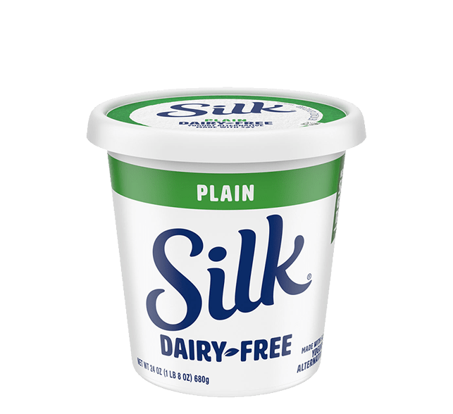 Plain Soy Dairy-Free Yogurt Alternative