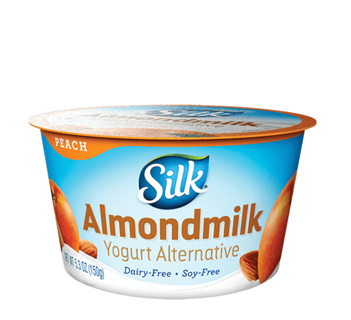 Peach Almond <br>Dairy-Free Yogurt Alternative