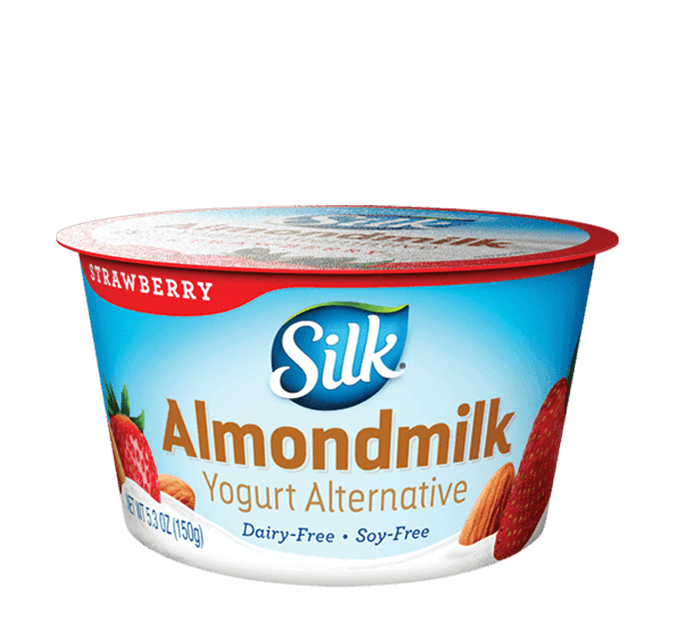 Strawberry Almondmilk <br>Dairy-Free Yogurt Alternative