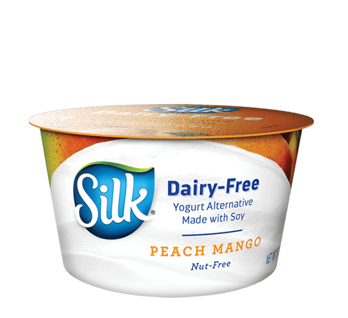 Peach Mango Soymilk<br> Dairy-Free Yogurt Alternative