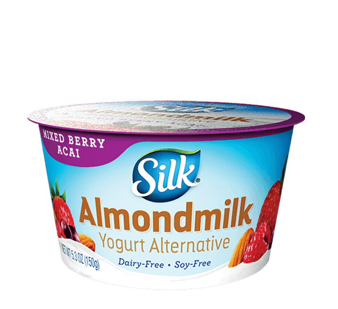 Mixed Berry Acai Almond <br>Dairy-Free Yogurt Alternative
