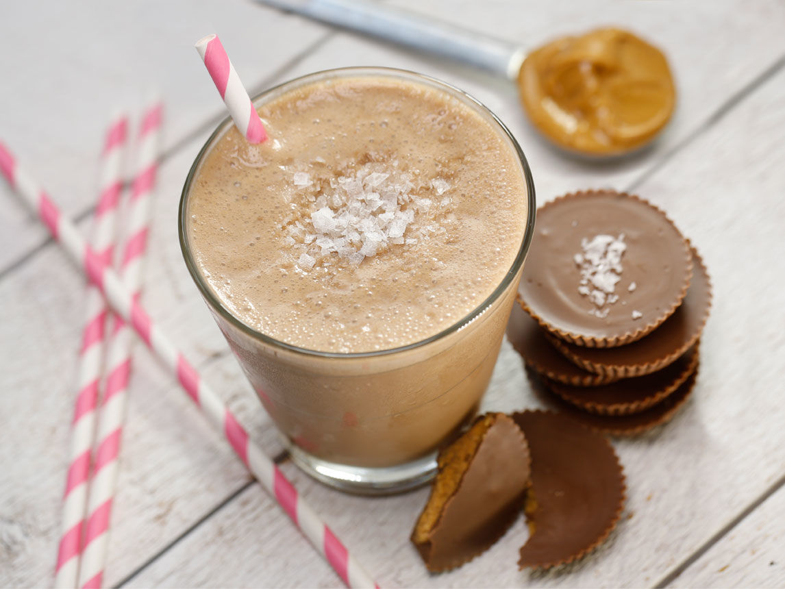 Photo of Salted Peanut Butter Cup Smoothie