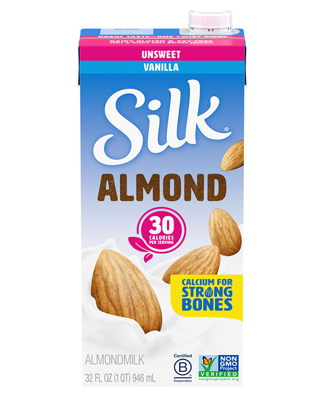 Shelf-stable Unsweet Vanilla Almondmilk