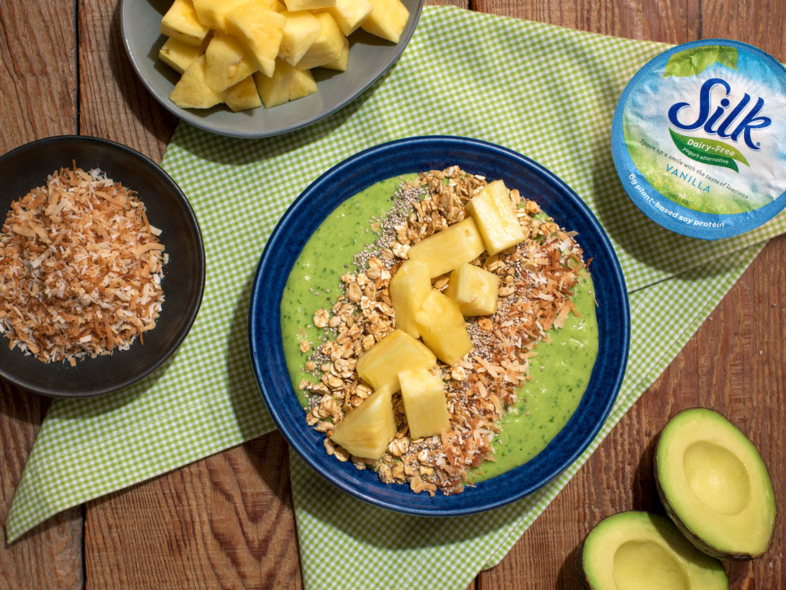 Photo of Tropical Breakfast Smoothie Bowl