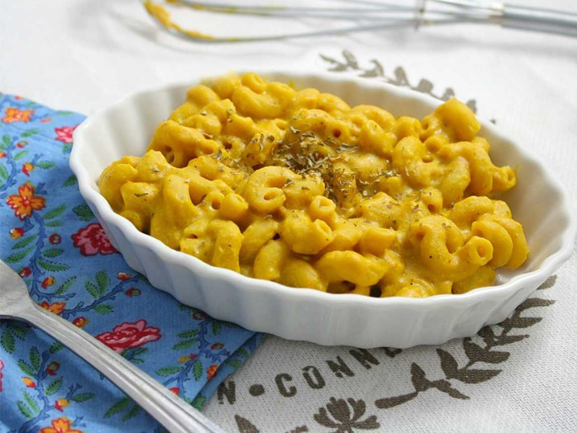 Photo of Vegan Pumpkin Mac and Cheeze