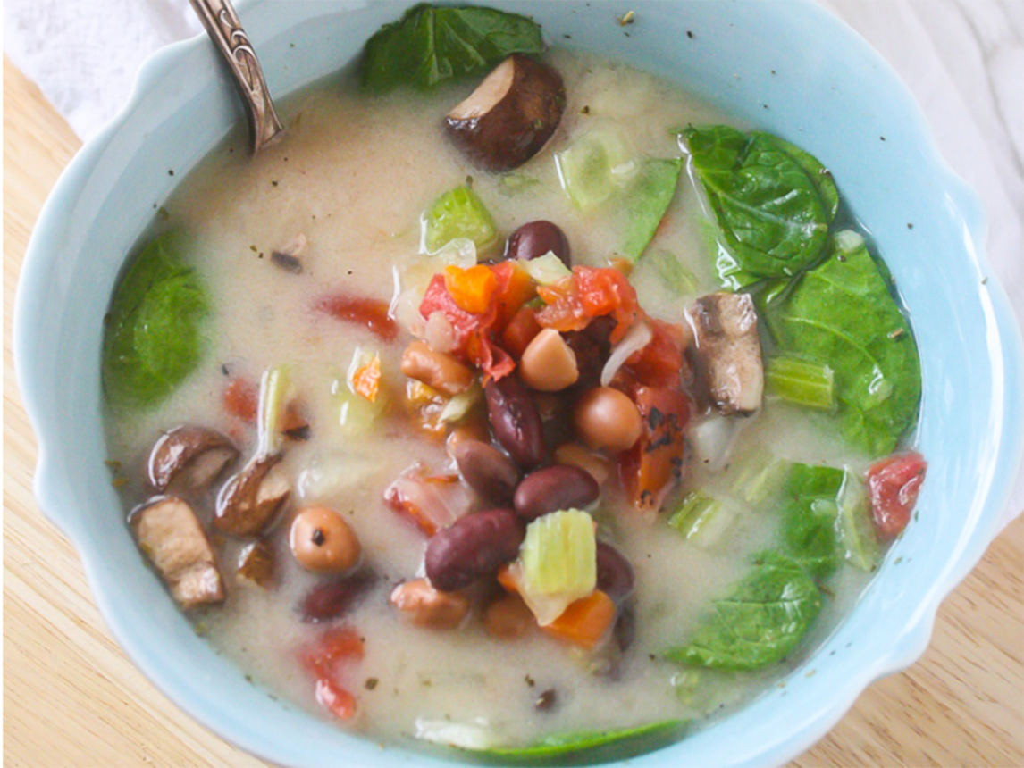 Photo of Creamy Vegetable Soup
