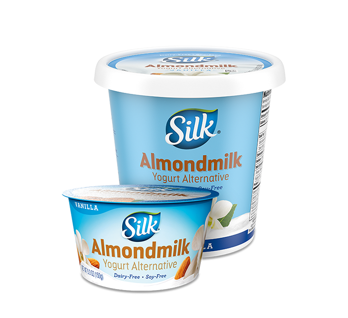 Vanilla Almond <br> Dairy-Free Yogurt Alternative