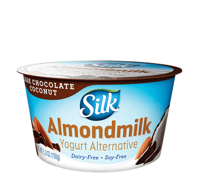 Dark Chocolate Coconut <br>Almondmilk Dairy-Free Yogurt Alternative