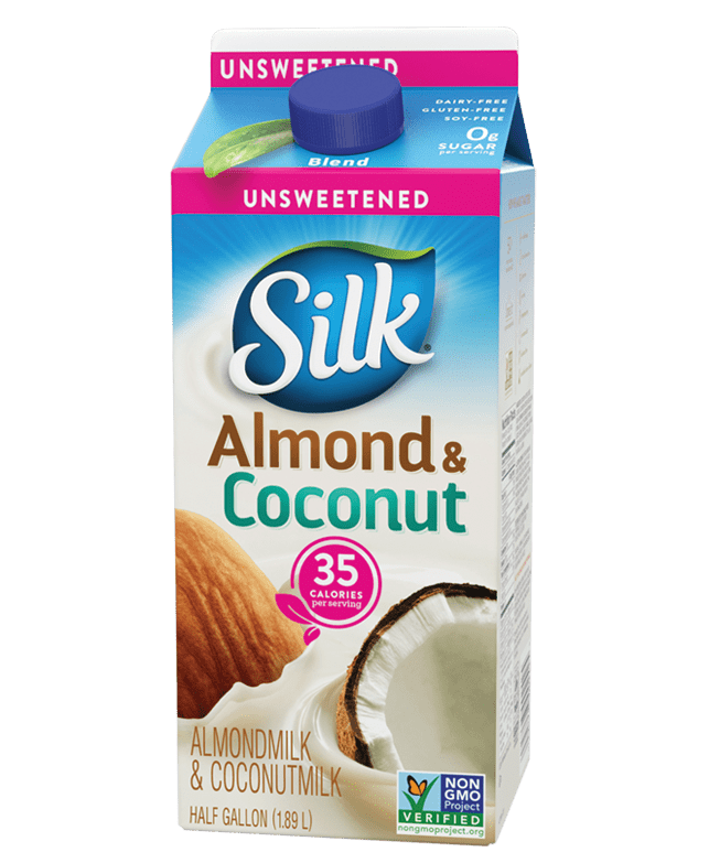 Silk Unsweet Blend Almondmilk & Coconutmilk