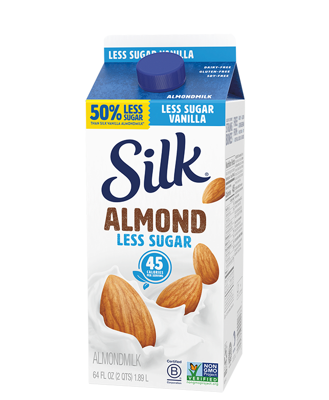 Silk Less Sugar Vanilla Almondmilk