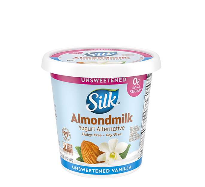 Unsweet Vanilla Almondmilk <br>Dairy-Free Yogurt Alternative