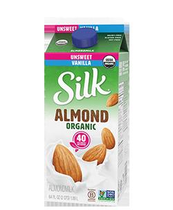 Organic Unsweet Vanilla Almondmilk