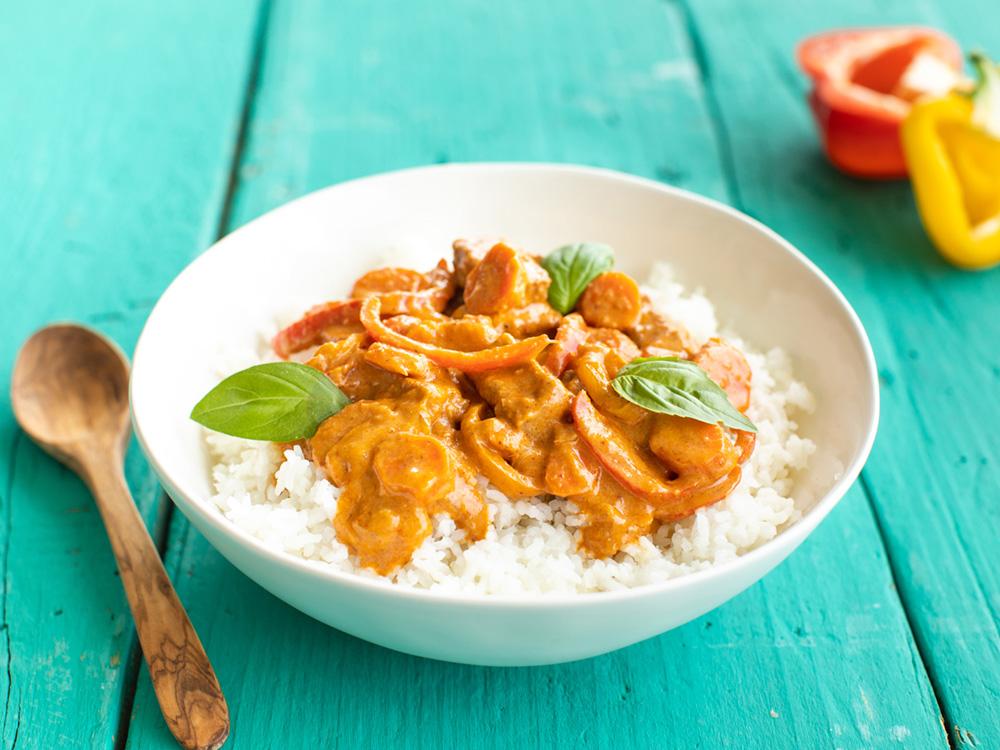 Photo of Vegan Panang Curry