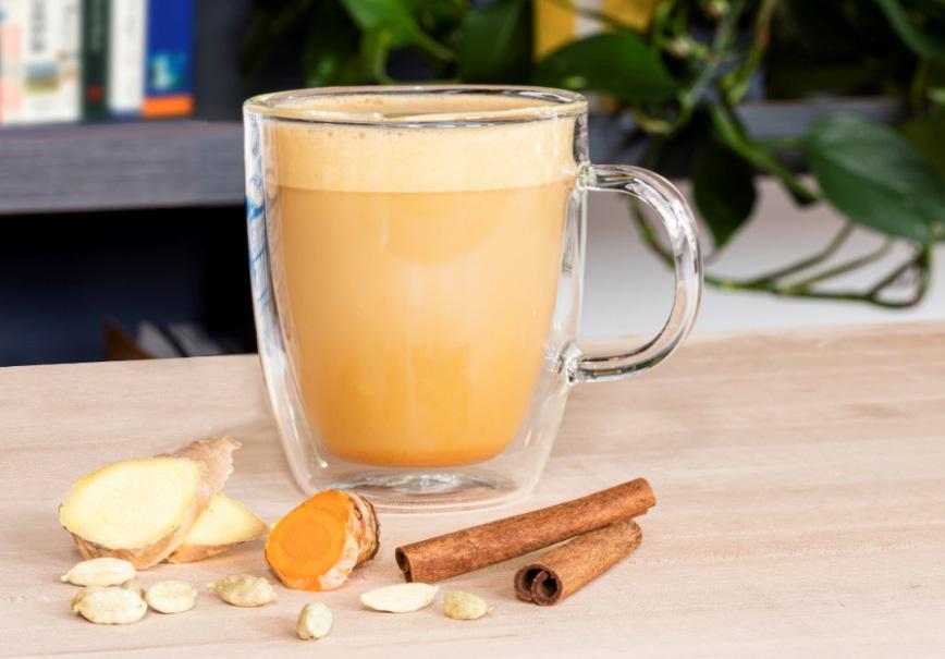Photo of Amber Spice Oatmilk Latte