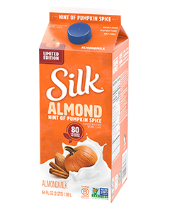 Hint of Pumpkin Spice Almondmilk