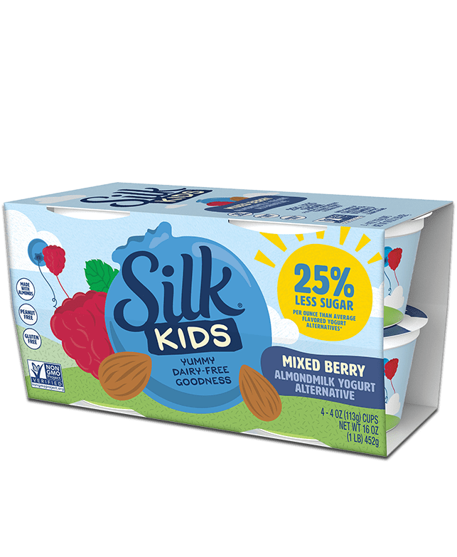 Kids Mixed Berry Almondmilk <br>Dairy-free Yogurt Alternative
