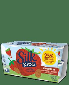 Kids Strawberry Almondmilk <br>Dairy-free Yogurt Alternative