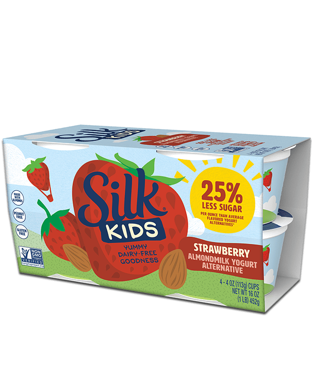 Kids Strawberry Almondmilk <br>Dairy-free Yogurt Alternative