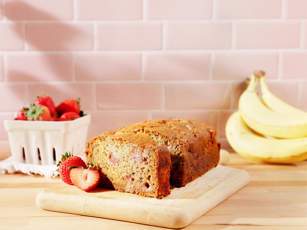 Photo of Strawberry Banana Bread